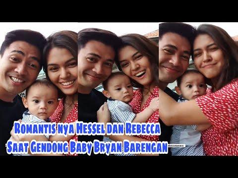 Kekompakan Hessel & Rebecca saat Gendong Babby Bryan Dibalik Layar Bawang Putih Berkulit Merah S2