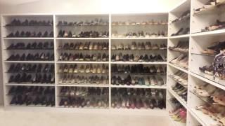 Trabalho de Organização de Sapatos realizado pela Claudia Pilli, personal organizer da OrdenArte