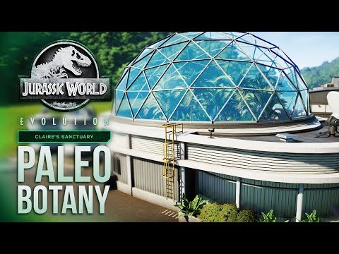 New Paleobotany System - EXPLAINED! | Jurassic World: Evolution Claire's Sanctuary