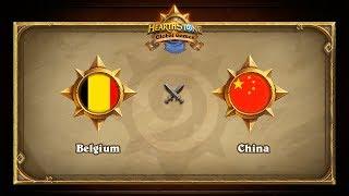 CHN vs BEL, game 1