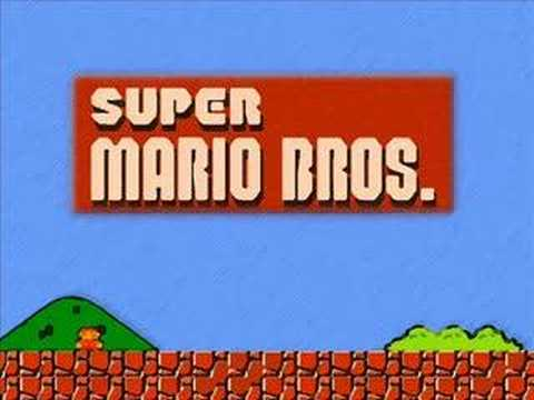 Super Mario Bros. Theme Song (видео)