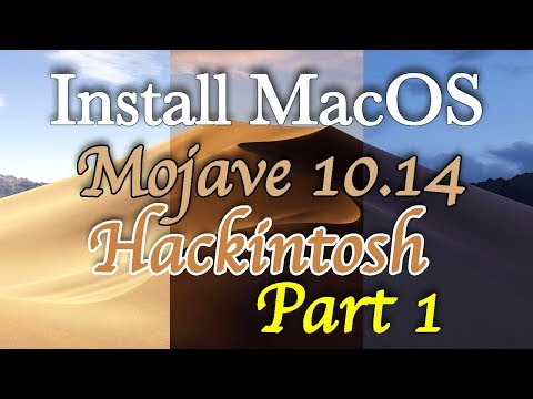 Install MacOS Mojave Hackintosh | Making Bootable USB | Step by Step | Part 1