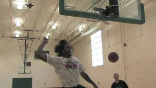 Jordan Hill - ATTACK Athletics Workout -- DraftExpress