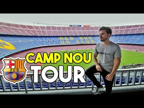 TOUR POR EL ESTADIO CAMP NOU FC BARCELONA