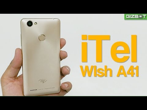 ITel Wish A41 Unboxing And First Impressions - GIZBOT