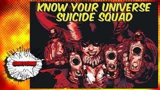 Video Suicide Squad History - Know Your Universe MP3, 3GP, MP4, WEBM, AVI, FLV Oktober 2018