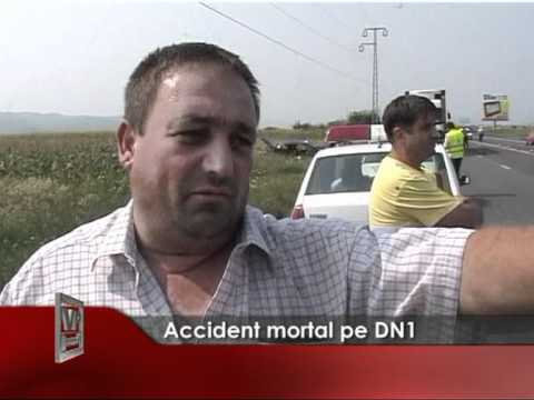 Accident mortal pe DN1