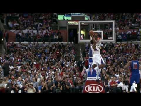 dunk - Chris Paul sets up the alley-oop to DeAndre Jordan for the BIGGEST dunk of his career. Visit nba.com/video for more highlights.