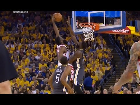 James Harden POSTERIZES Draymond Green!