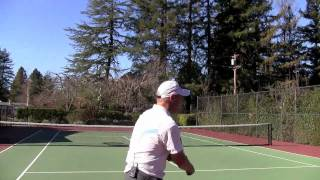 Tennis Highlights, Video - Tennis 2nd Serve Topspin - Your Head At Contact