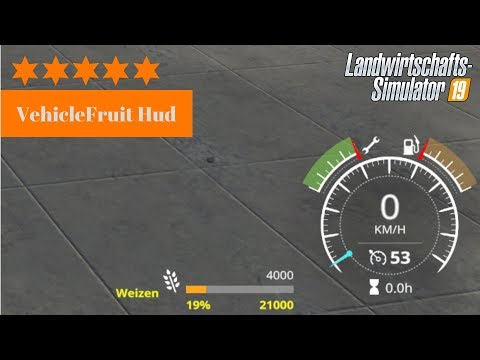 VehicleFruit Hud v0.3 Beta