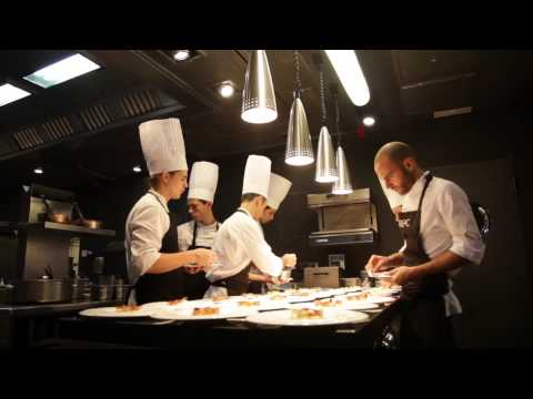 aBaC Experience. ** Michellin Restaurant. Barcelona 2012