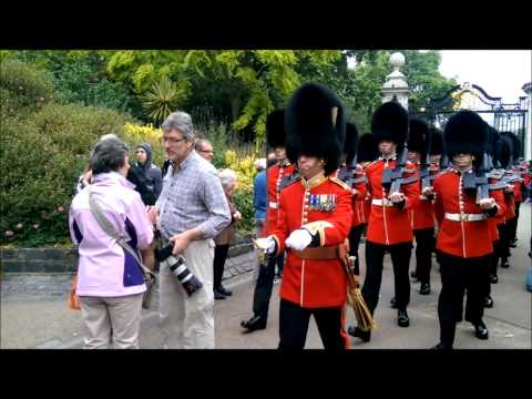 Too Funny! Tourist Gets Carried Away By British Soldiers
