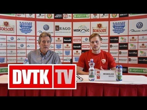 """""""A frissesség megtartása a fontos""""   2016. október 13.   DVTK TV"""