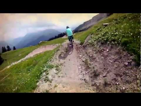 Video Gotschna Freeride Piste