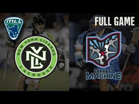 MLLs Youtube Game of the week: New York Lizards at Ohio Machine_Lacrosse, NLL National Lacrosse League. NLL's best of the week