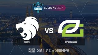 North vs OpTic Gaming - ESL One Cologne 2017 - de_cobblestone [CrystalMay, sleepsomewhile]