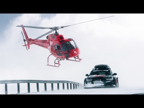 Το «θηρίο» των 950 ίππων στα χιόνια