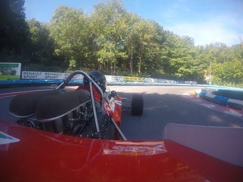 Classic Formula 1 Car Laps Buckmore Park