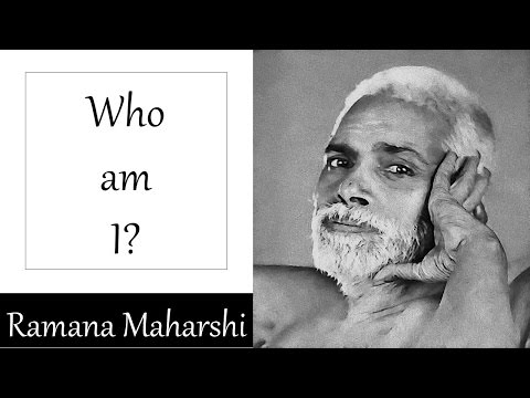 "Ramana Maharshi Teachings: ""Who Am I"" read by David Godman"
