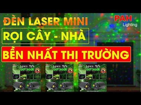 Máy chiếu Laser mini chấm bi trang trí không gian ngoài trời, chống được nước