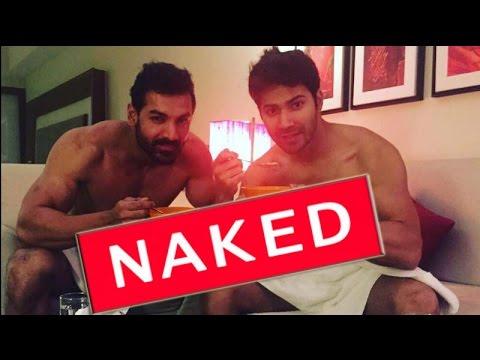 Dishoom boys Varun Dhawan & John Abraham SHOCKING VIDEO | Gupshupto