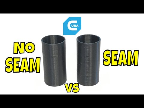 How to Control Seams In Cura Slicer Settings