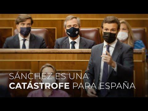 Sánchez es una catástrofe para España