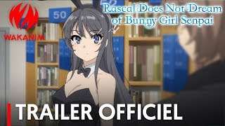 Rascal Does Not Dream Of Bunny Girl Senpai - Bande annonce
