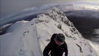 Winter On Striding Edge January 13th 2016
