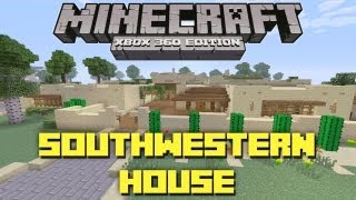Minecraft Xbox 360: Adobe House! (House Tours of Danville: Episode 32)