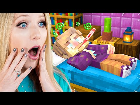 Our Baby YouTubers are SICK and Need HELP! - Minecraft