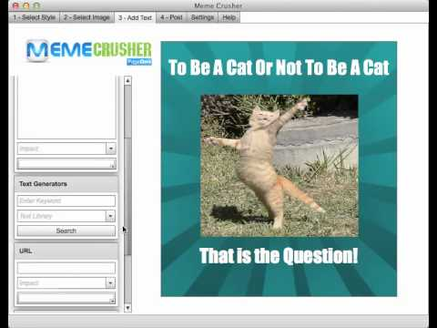MemeCrusher Creates Awesome Images That Generates Revenue
