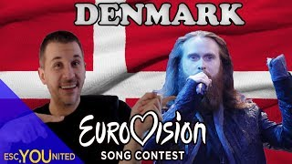 Video Denmark in Eurovision: All songs from 1957-2018 (REACTION) MP3, 3GP, MP4, WEBM, AVI, FLV Desember 2018