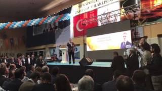 Turan 55. Genişletilmiş İl Danışma Meclisi'nde CHP'yi eleştirdi.