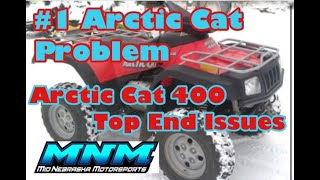 1. 1 of 2 Arctic Cat 400 Auto 4x4 Motor Rebuilt Disassemble Case Split Engine Tear Down Head Valve