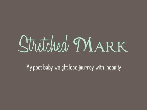 Losing Baby Weight with Insanity Workout
