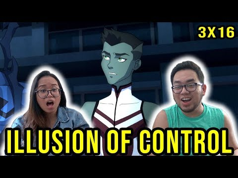 """YOUNG JUSTICE OUTSIDERS 3X16 REACTION Season 3 Episode 16 """"Illusion of Control"""""""