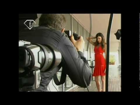 Alessia Fabiani en una sexy sesión de fotos