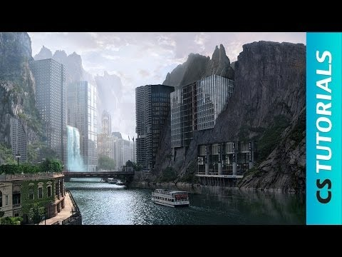 Strange City Photoshop Manipulation Tutorial