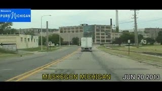 Muskegon (MI) United States  city photos : Milwaukee WI to Muskegon MI 272 Miles 2013 Time Lapse Drive
