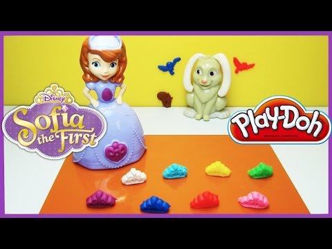 """Игровой набор Play-Doh """"Принцесса София и друзья"""""""""""