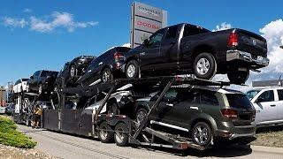 Video AUTO TRANSPORT CARRIER #04 -- Chrysler, Dodge, Jeep, RAM.  Real Time Unload: 32 Min. MP3, 3GP, MP4, WEBM, AVI, FLV Juni 2018