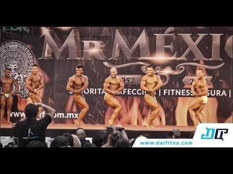Clasificados fisicoculturismo hasta 85, 90, 100 y +100 kg de este Mr. México 2017