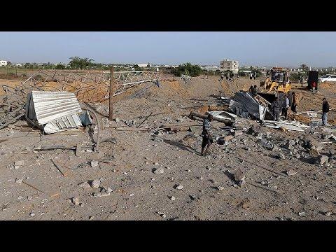 Israël frappe Gaza après un tir de roquette, le Jihad islamique visé