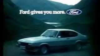 Ford Capri 2 8i Injection 1981  advert