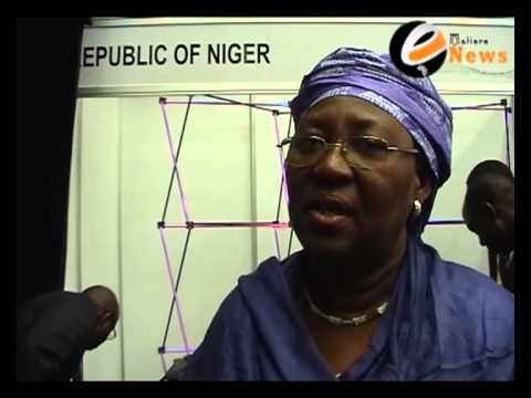 L'ambassadeur du niger en afrique du sud Mme Rakitou Mayaki lors de mining indaba 2013