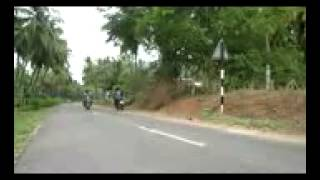Pollachi India  City pictures : Asraf bike wheeling pollachi india