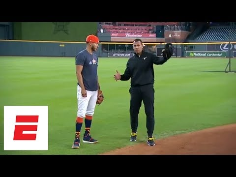 [FULL] Carlos Correa on playing SS, nerves before engagement after Game 7 of World Series | ESPN
