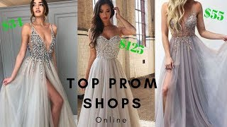 Top 2019 Online Prom Shops To Buy Your Prom Dress - Find Styles As Low As $34!